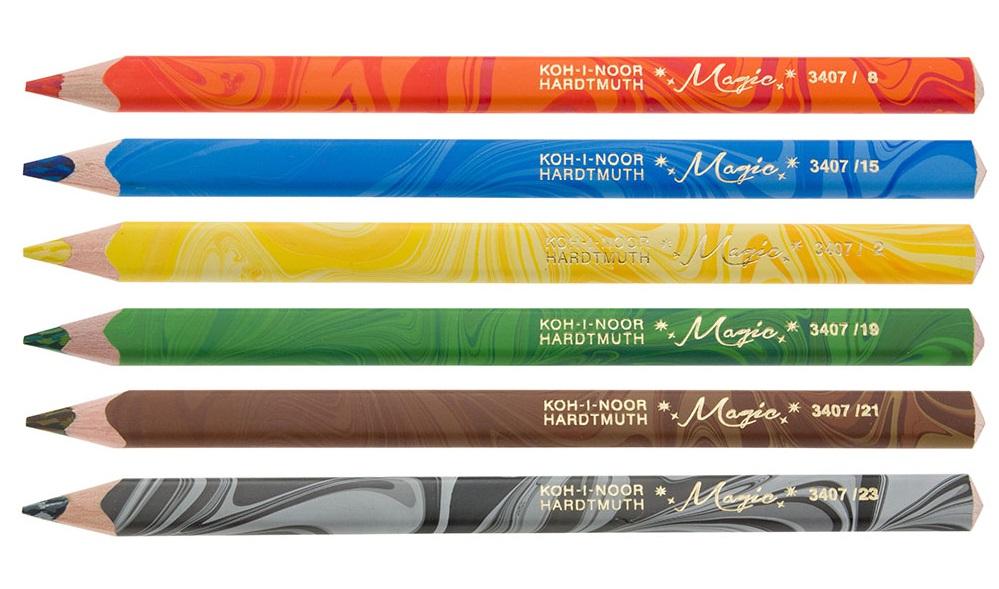 Pastelky Koh-I-Noor Magic 6 ks 3408