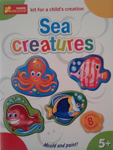 Udělej si magnety na ledničku - Mořská zvířátka