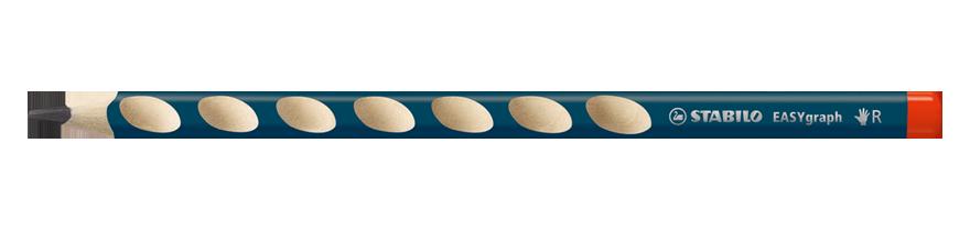 Fotografie Ergonomická tužka Stabilo EASYgraph HB - P - pro praváky