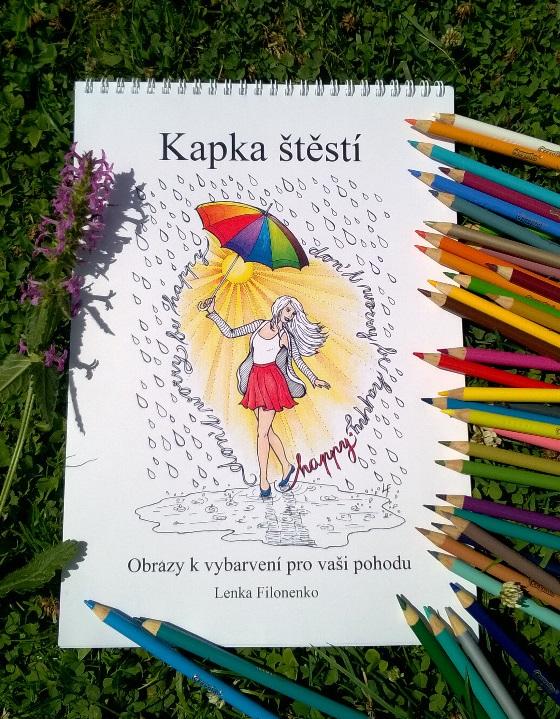 Kapka štěstí - Lenka Filonenko - Obrazy k vybarvení pro vaši pohodu