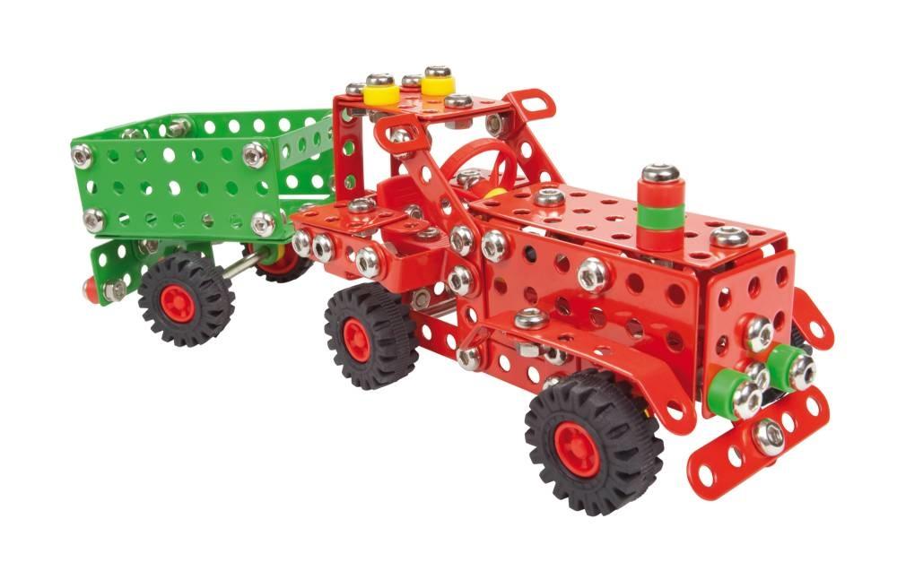 Alexander - Malý konstruktér - Traktor s přívěsem (Farmer) 299 dílků