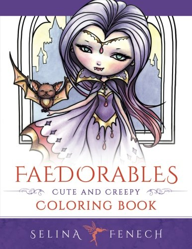 Faedorables: Cute and Creepy Coloring Book - Selina Fenech