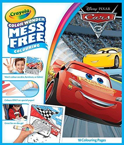 Crayola Color Wonder kouzelné omalovánky Auta 3 (Cars 3)