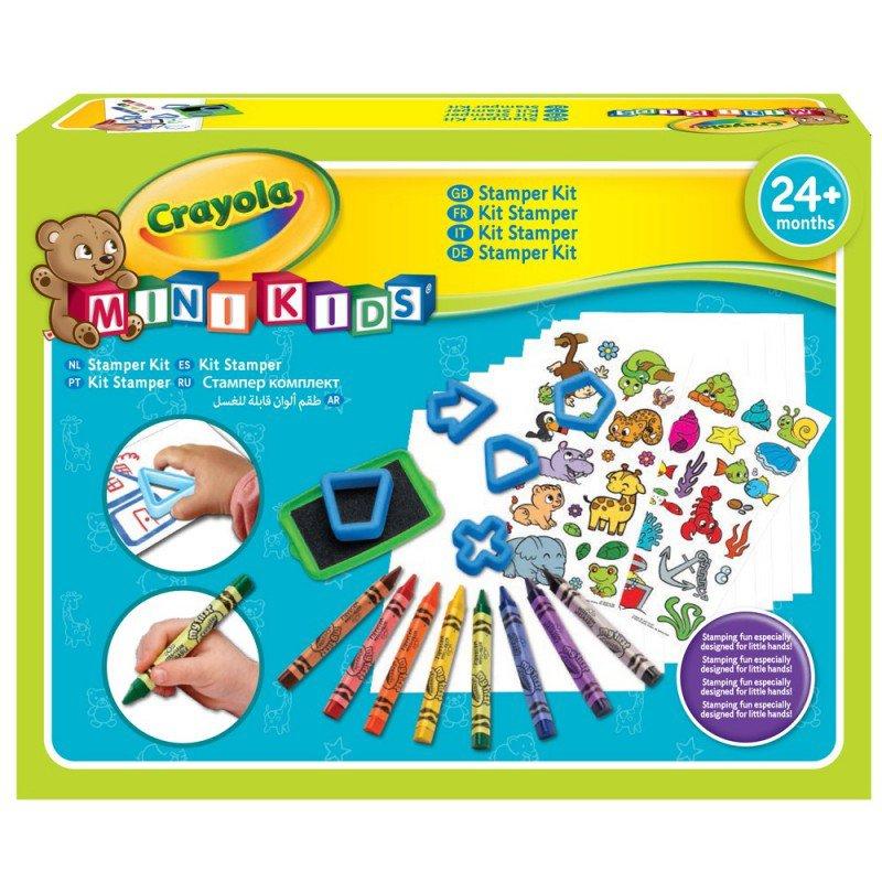 Crayola Mini Kids - Můj první razítkovací kufřík