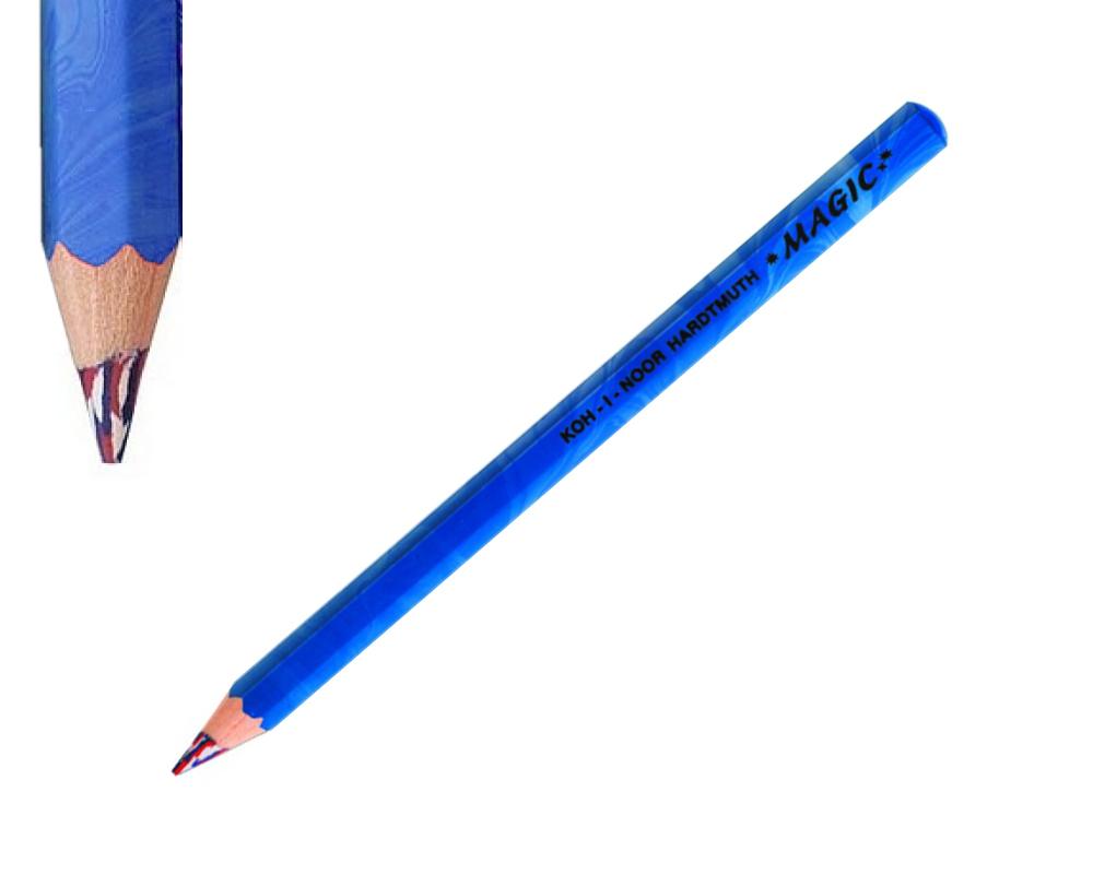 Fotografie Jumbo pastelka Koh-I-Noor Magic Amerika modrá