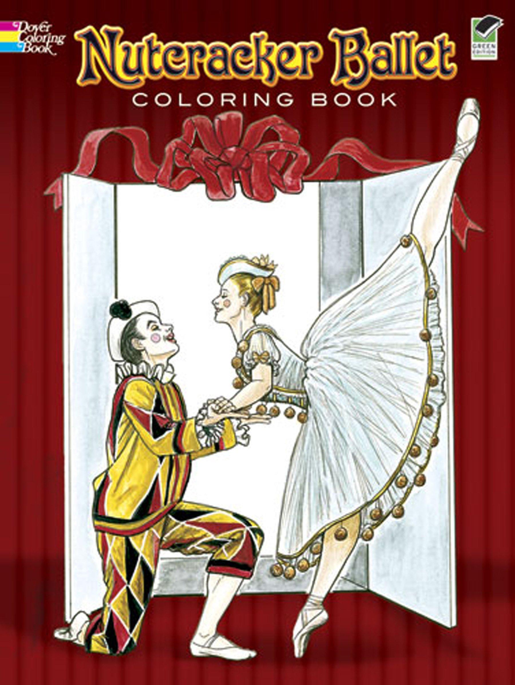 Louskáček - Nutcracker Ballet Coloring Book - Brenda Sneathen Mattox