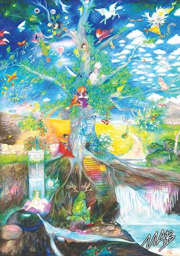 Pohlednice - Marie Brožová - Letokruh stromu života