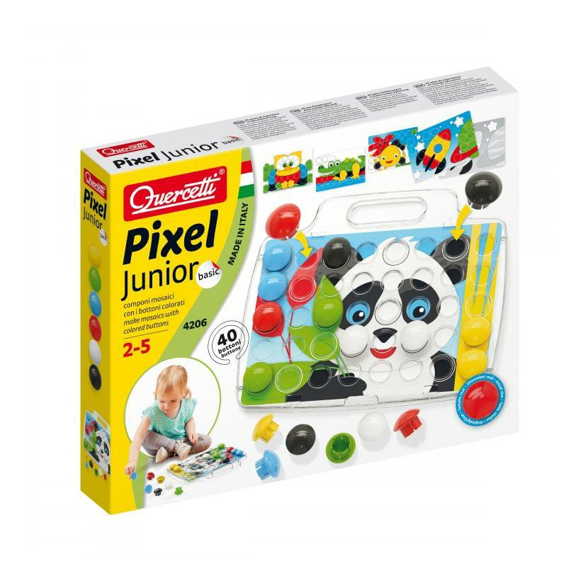 Quercetti Pixel Junior Basic - mozaika