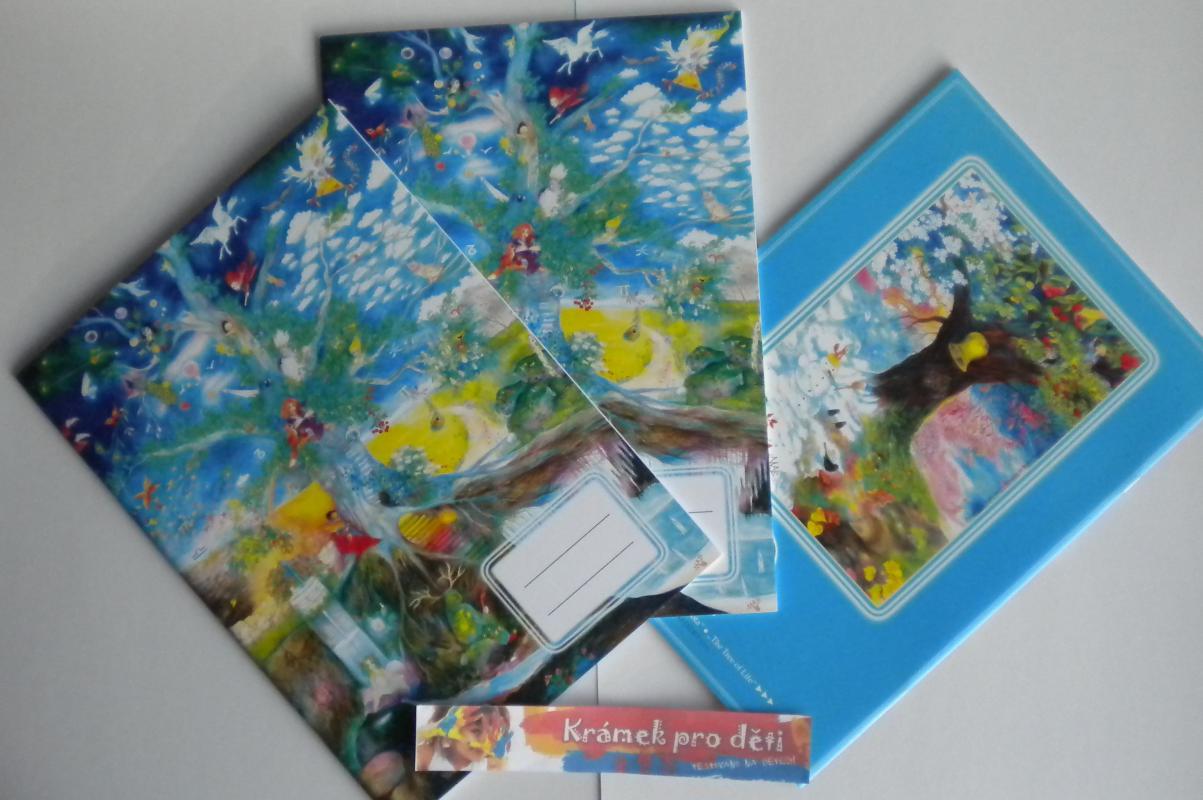 Sešit A4 bez linek - Marie Brožová - Letokruh stromu života