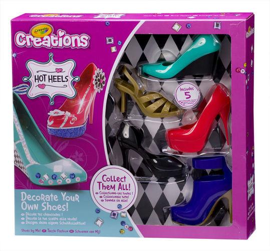 Báječné střevíčky Crayola - 5 botek