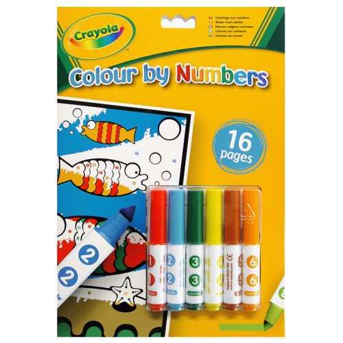 Crayola malování podle čísel