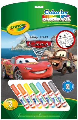 Crayola malování podle čísel Disney Cars - Auta