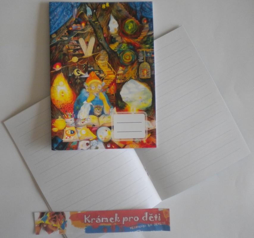 Sešit A5 linkovaný pro 2. třídu - Marie Brožová - Kniha života