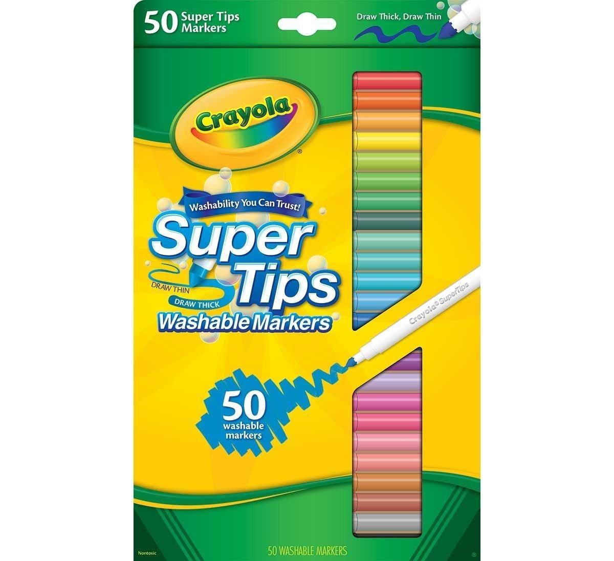 Sada 50 fixek Crayola - tenké kvalitní fixy