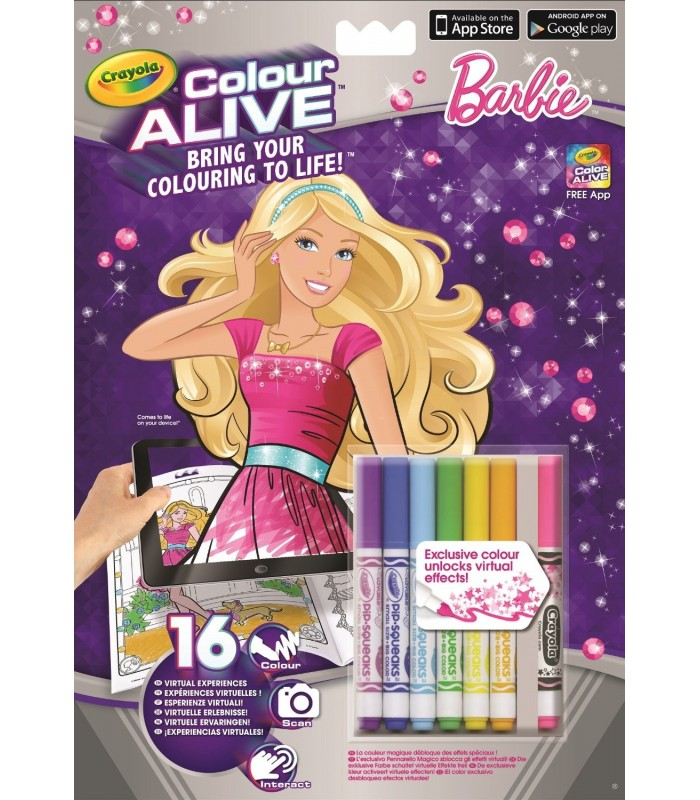 Crayola Colour Alive Barbie - Fixy