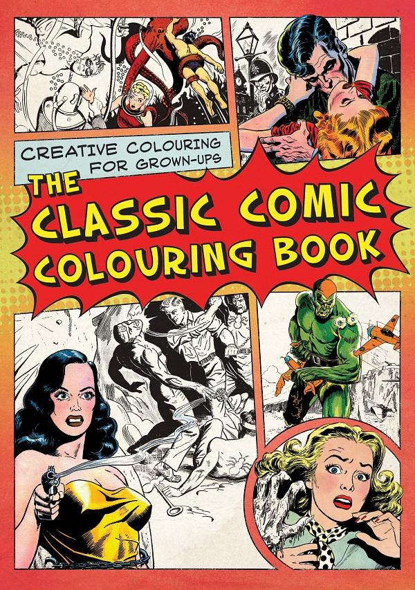 Classic Comic Colouring Book - Omalovánky komiksů