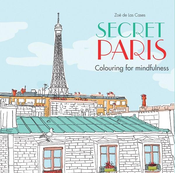 Secret Paris - Utajená Paříž - Omalovány