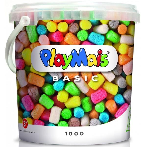 Fotografie Kukuřičná stavebnice PlayMais - Basic 1000