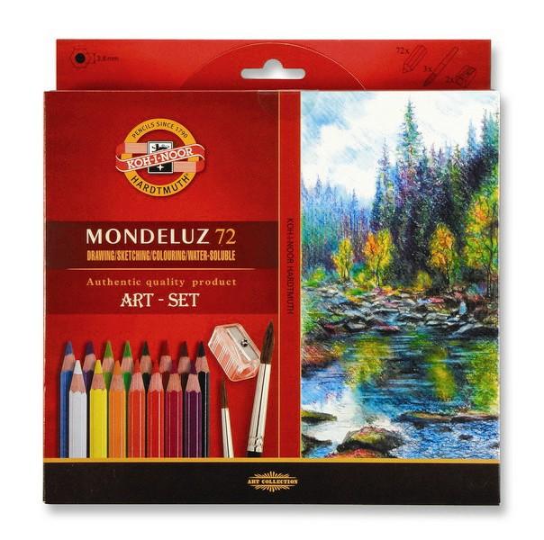Akvarelové pastelky 72 ks Koh-I-Noor Mondeluz