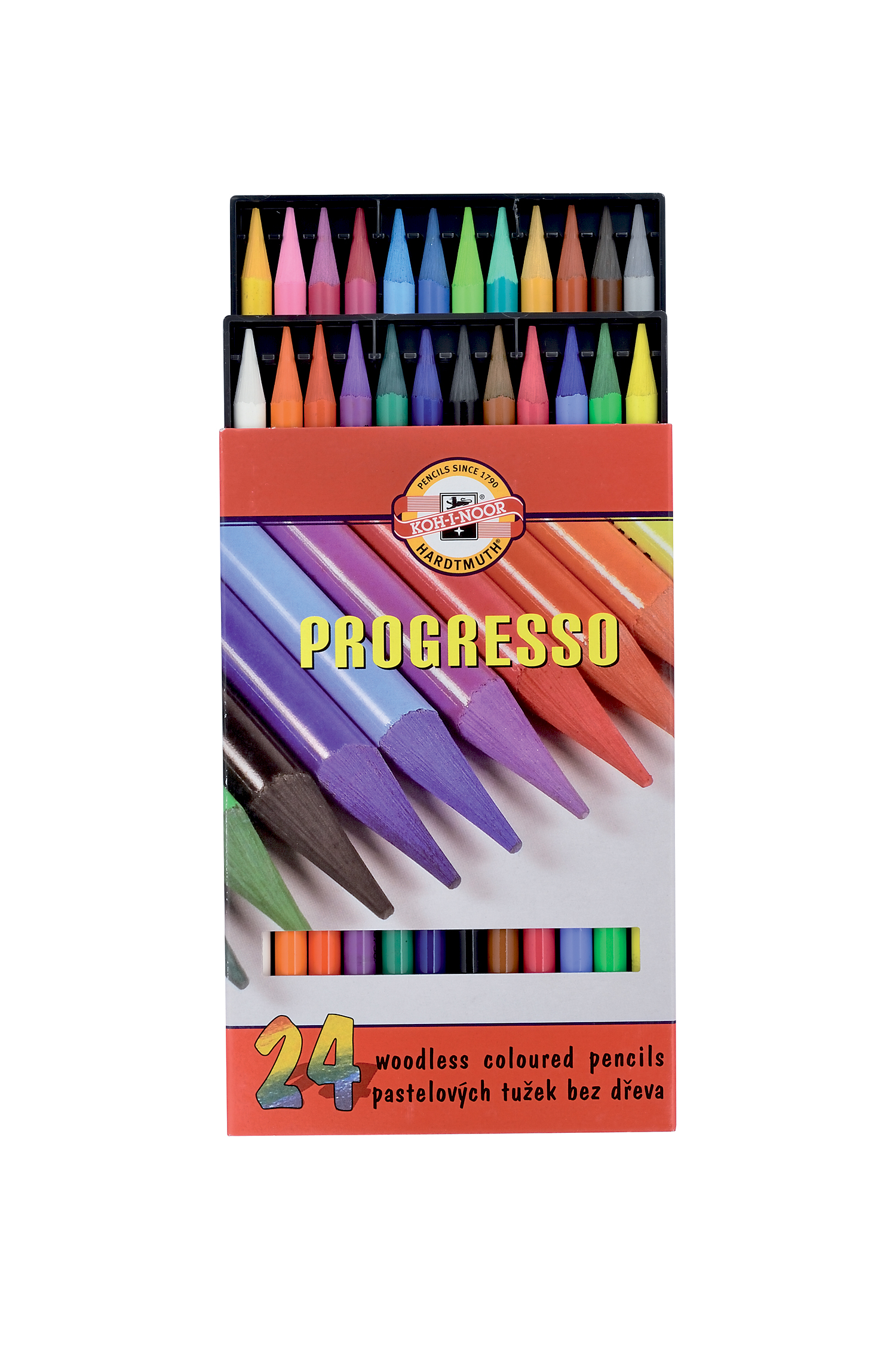 Pastelky Koh-I-Noor Progresso 24 ks 8758/24
