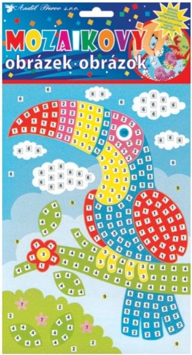 Mozaika pro děti - Tukan