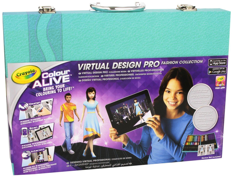 Crayola Colour Alive Virtual Design Pro Fashion Collection