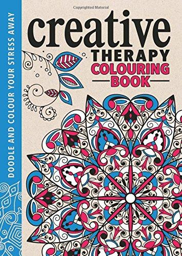 Creative Therapy - an Anti-stress Colouring Book
