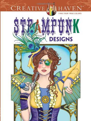 Steampunk Designs Coloring Book - Marty Noble