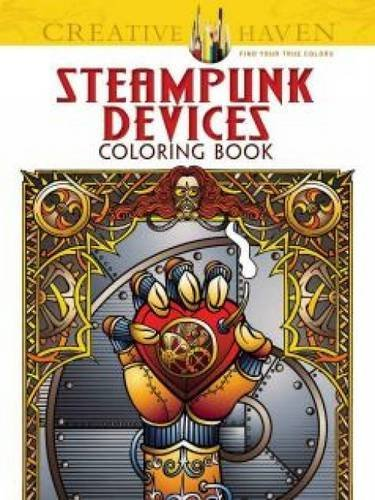 Steampunk Devices Coloring Book - Jeremy Elder