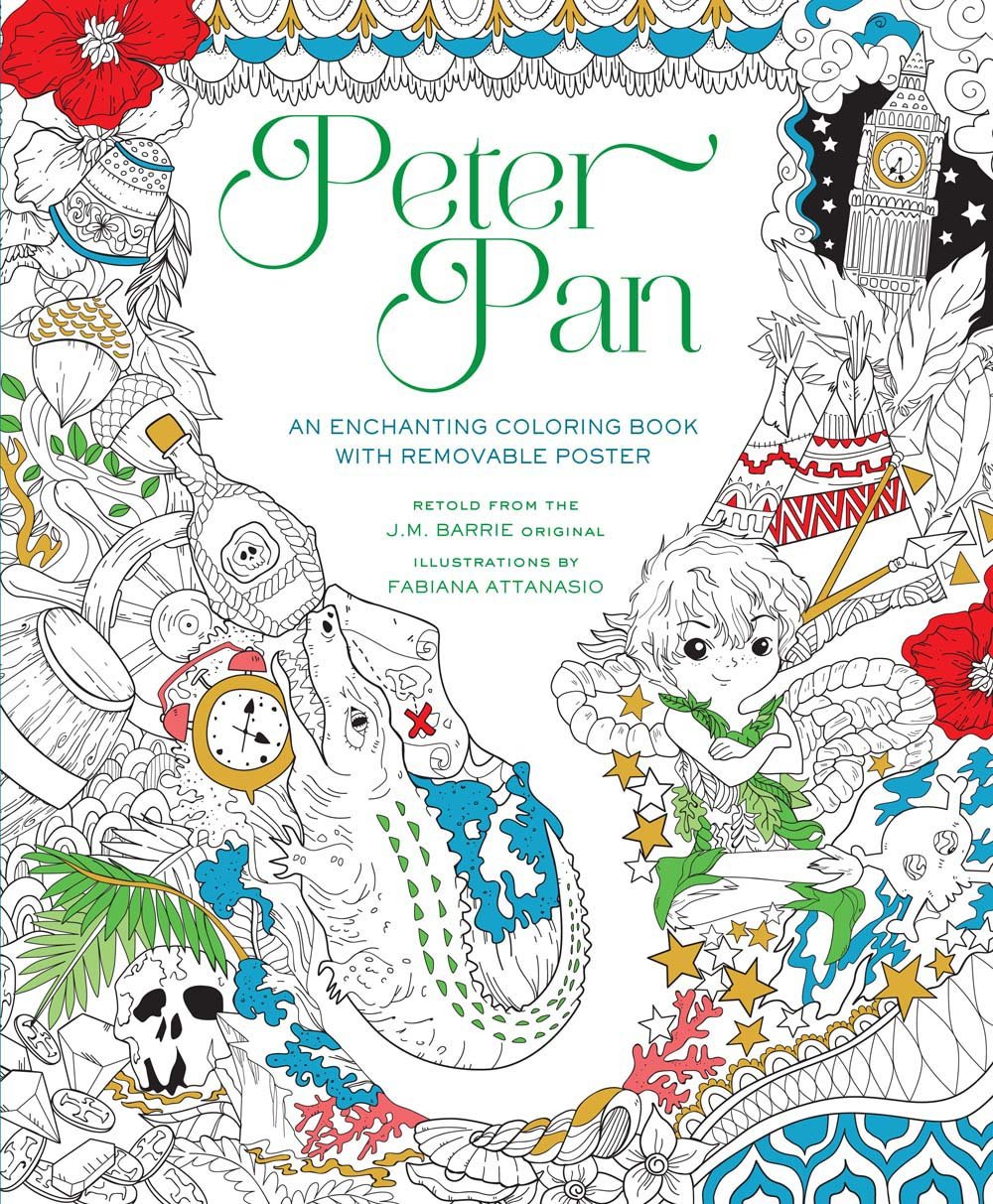 Peter Pan Coloring Book - Fabiana Attanasio