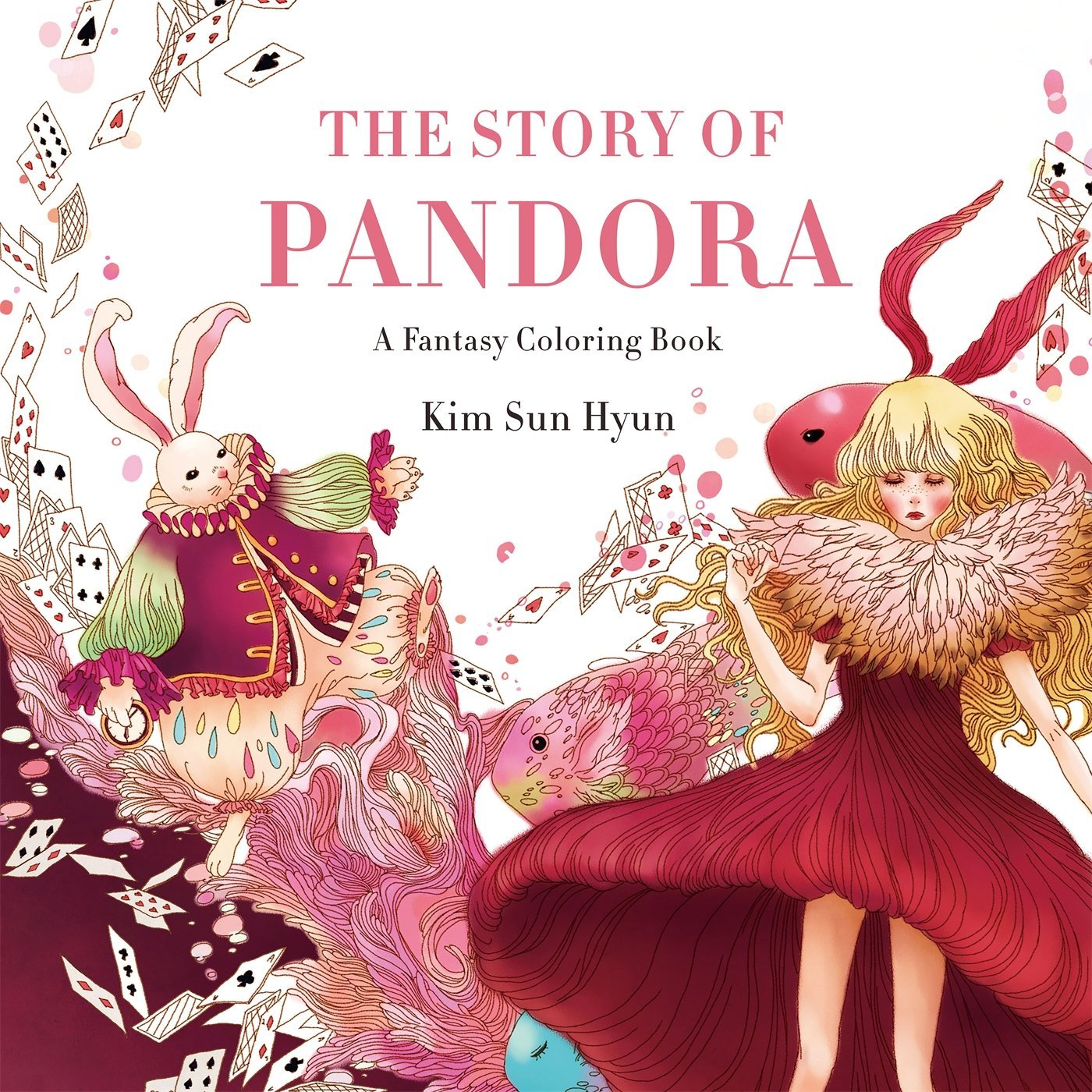 The Story of Pandora: A Fantasy Coloring Book - Kim Sun Hyun & Song Geum Jin