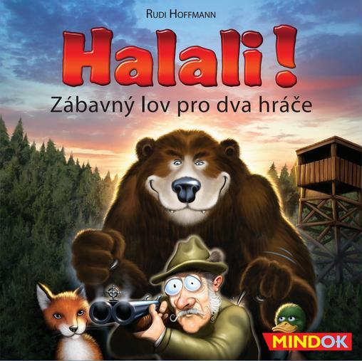 Mindok - Halali - Zábavný lov pro dva hráče