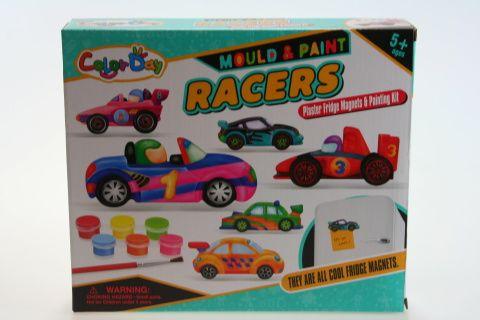 Udělej si magnety na ledničku - Závodní auta
