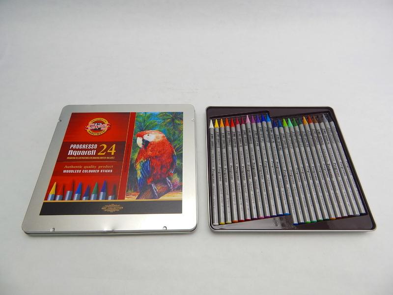 Akvarelové pastelky 24 ks Koh-I-Noor Progresso 8784/24
