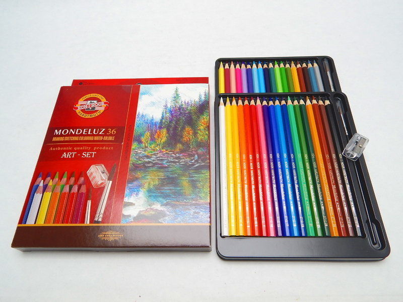 Akvarelové pastelky 36 ks Koh-I-Noor Mondeluz