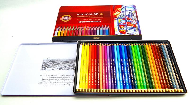 Umělecké pastelky 36 ks Koh-I-Noor Polycolor 3825/36