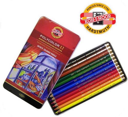 Umělecké pastelky 12 ks Koh-I-Noor Polycolor 3822/12