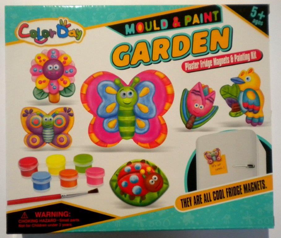 Udělej si magnety na ledničku - Zahrada