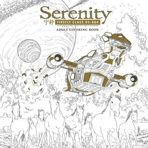 Serenity: Adult Coloring Book - Firefly Class 03-K64
