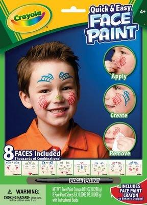 Crayola malování na obličej
