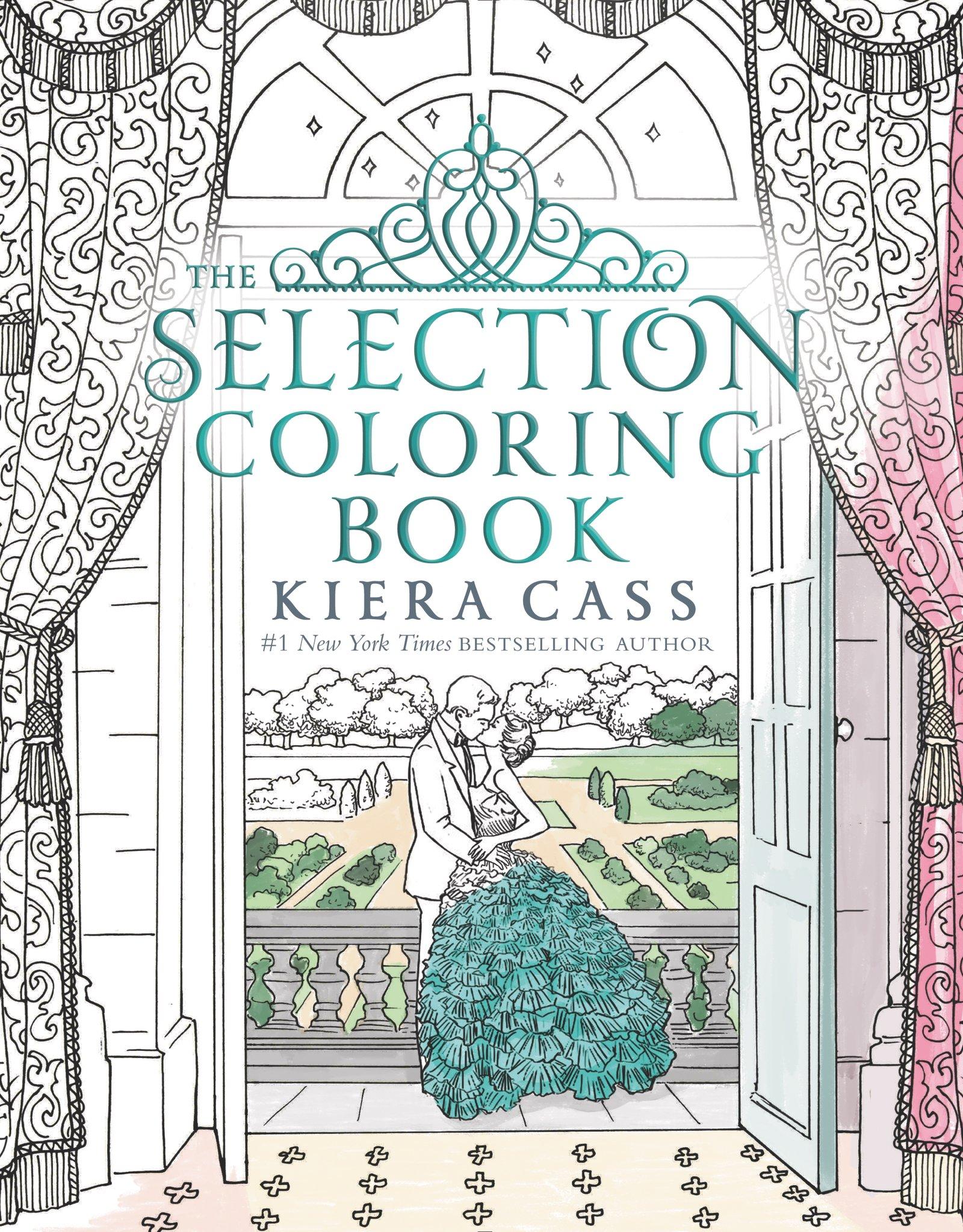 The Selection Coloring Book - Kiera Cass, Martina Flor