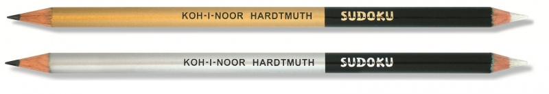 SUDOKU tužka s gumou Koh-I-Noor 1350