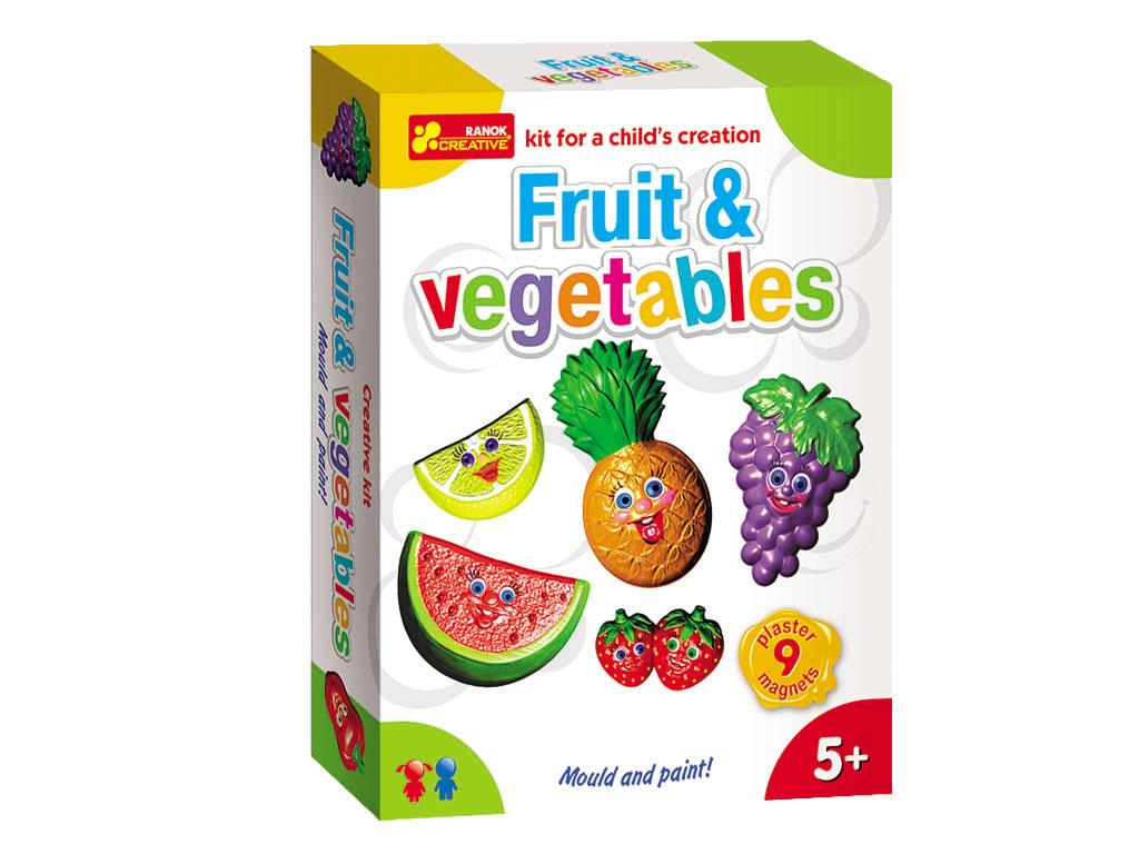 Vyrob si magnety na lednici - ovoce a zelenina