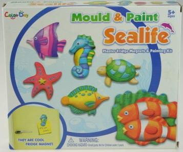 Udělej si magnety na ledničku - Mořský svět