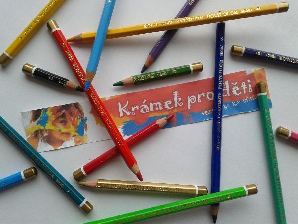 Jednotlivá pastelka (kusovka) Koh-I-Noor Polycolor 3800 č. 68 - umbra pálená