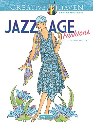 Jazz Age Fashions Coloring Book - Ming-Ju Sun