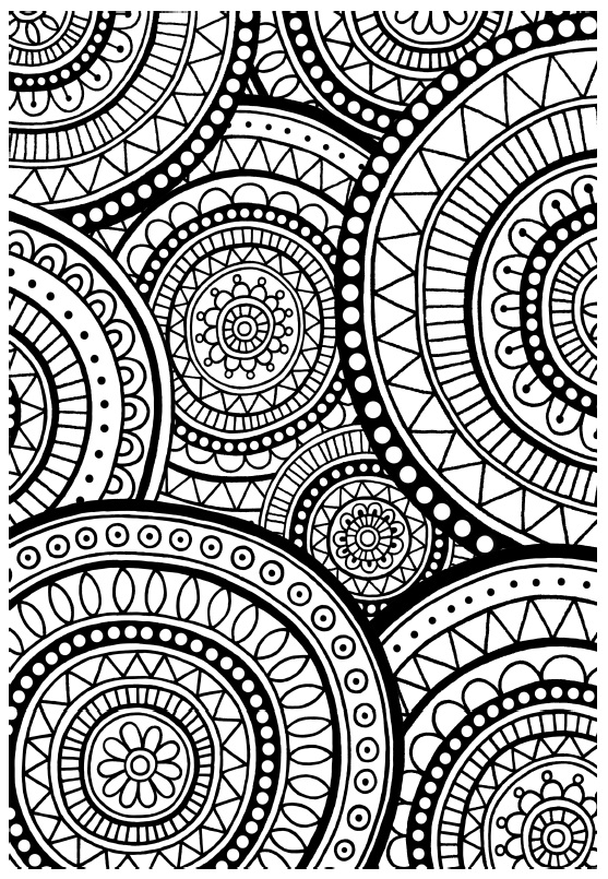 Omalovanky pro nespavce Can t Sleep Colouring Book
