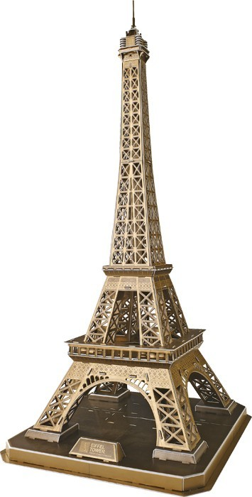 3D Eiffelova věž velká