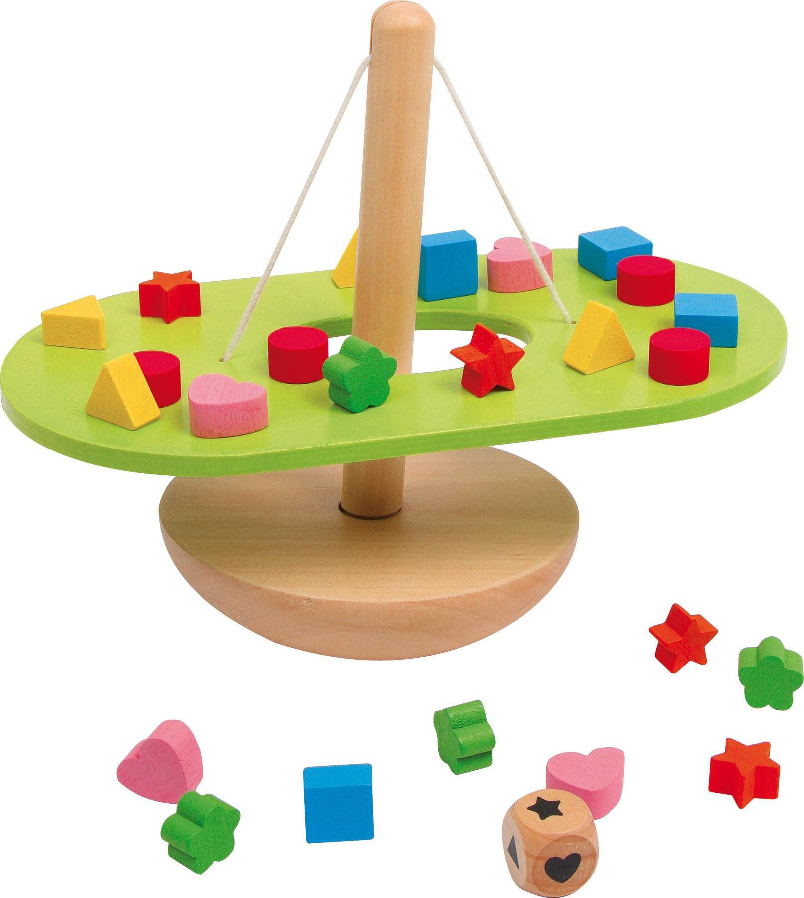 Balanční houpačka - tvary