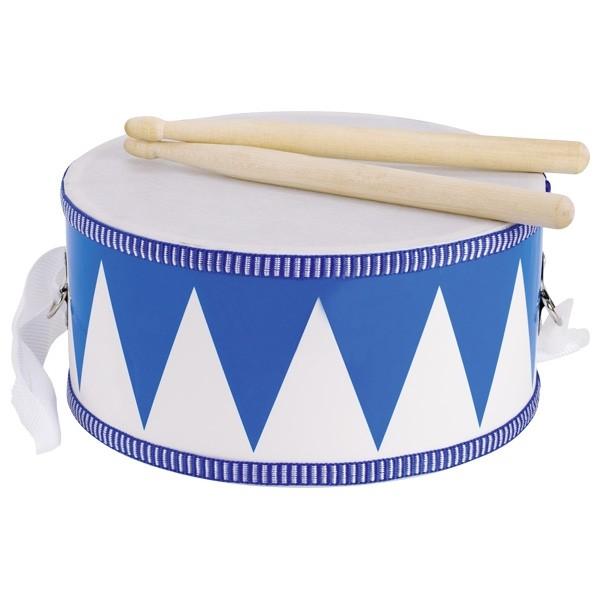 Bubínek modrý s dřevěnými paličkami, 20 cm